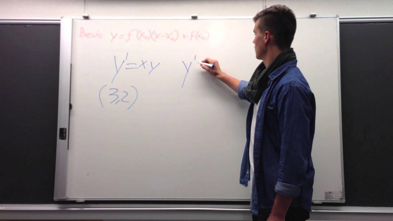 Projekt Differentialregning Bevis 2