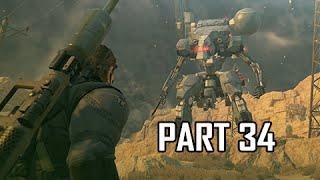 Metal Gear Solid 5 The Phantom Pain Walkthrough Part 34 - Boss Sahelanthropus (MGS5 Let's Play)
