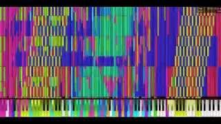 """[BLACK MIDI] Vocaloid - Hatsune Miku - """"Po Pi Po"""" 2 MILLION NOTES!!!"""