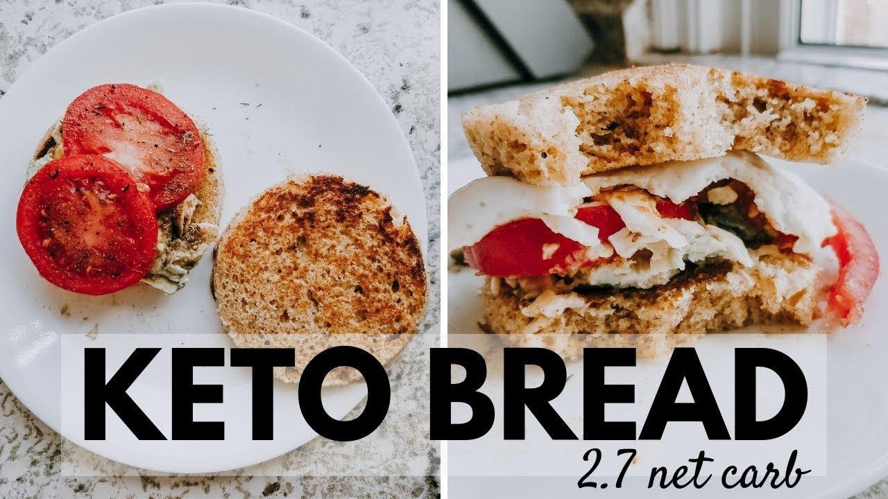 90 SECOND KETO BREAD | 2 7 Net Carb