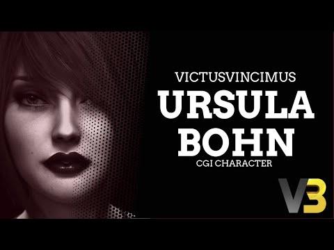 The Making Of A CGI Character - Ursula Bohn