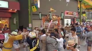 【 Full HD 1080p 】平成30年 磐井神社・根岸神社 連合神輿渡御_アーケードまで