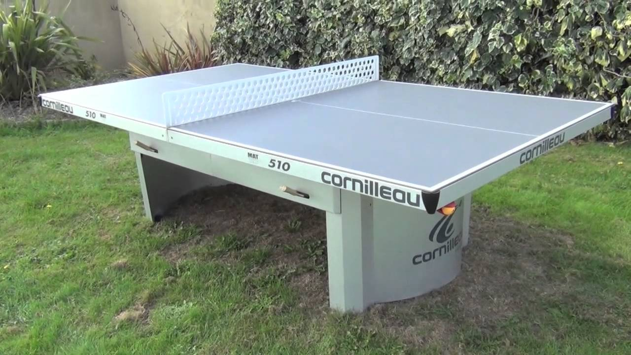 Attractive Cornilleau Proline 510 Outdoor Table Tennis Table   YouTube