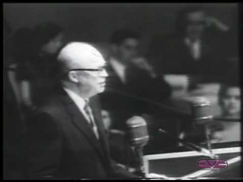 "President Dwight D. Eisenhower ""Atoms for Peace"""