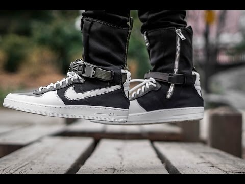 UNDERRATED SNEAKER 2017 (ACRONYM X NIKE AIR FORCE 1 DOWNTOWN SP ON FEET REVIEW)
