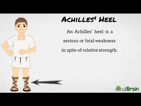 Achilles Heel  - Idioms in English