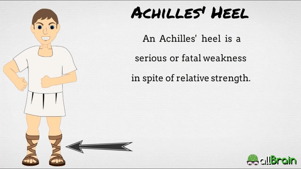 achilles heel over reliance on technology