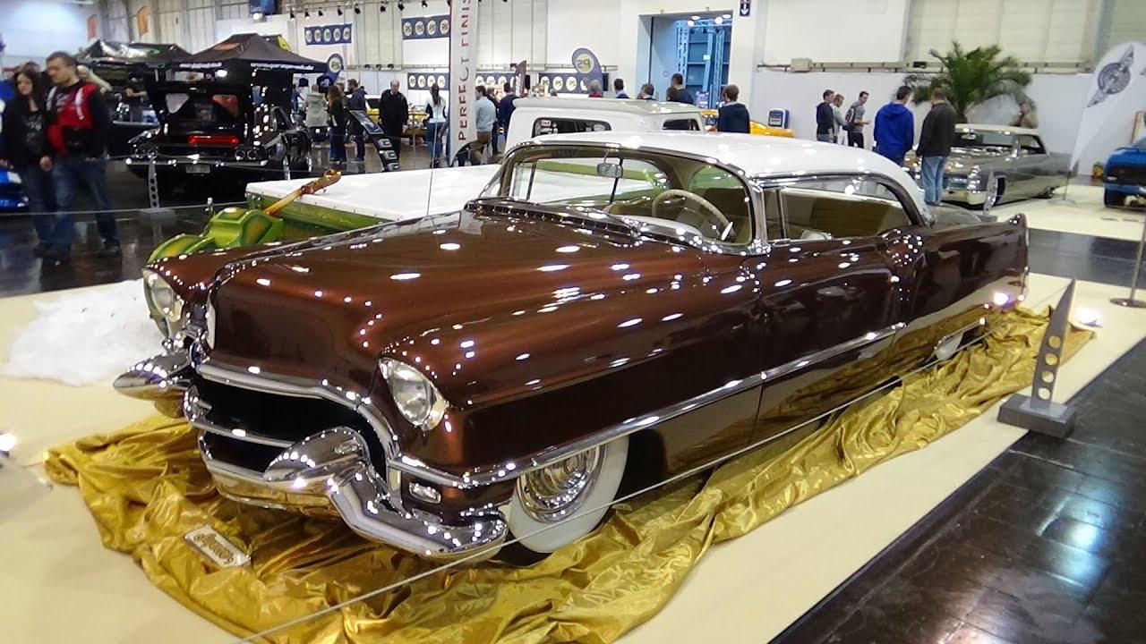 1955 Cadillac Coupe De Ville Exterior And Interior