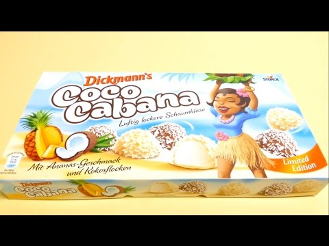 NEW Coco Cabana Chocolate Covered Marshmallows -  ❤ Limited Edition ❤