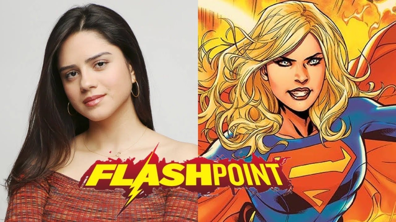 Sasha Calle is your new Supergirl in the Flash movie