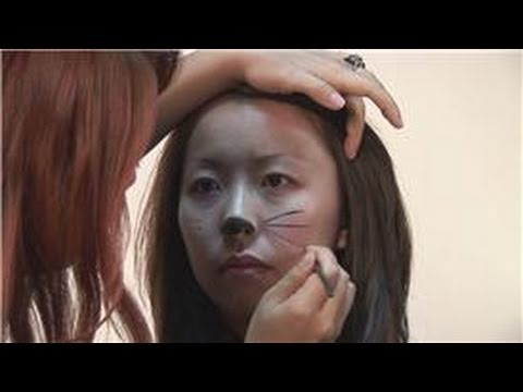 Specialty Makeup Tips Cat Face Makeup Instructions Youtube