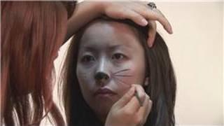 Specialty Makeup Tips : Cat Face Makeup Instructions