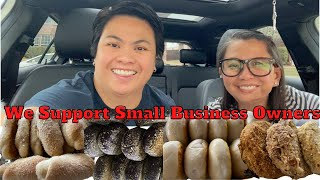 Fluffy Ube Cheese Pandesal, Spanish Bread and Pandecoco From Likha Bakes  Support Small Business