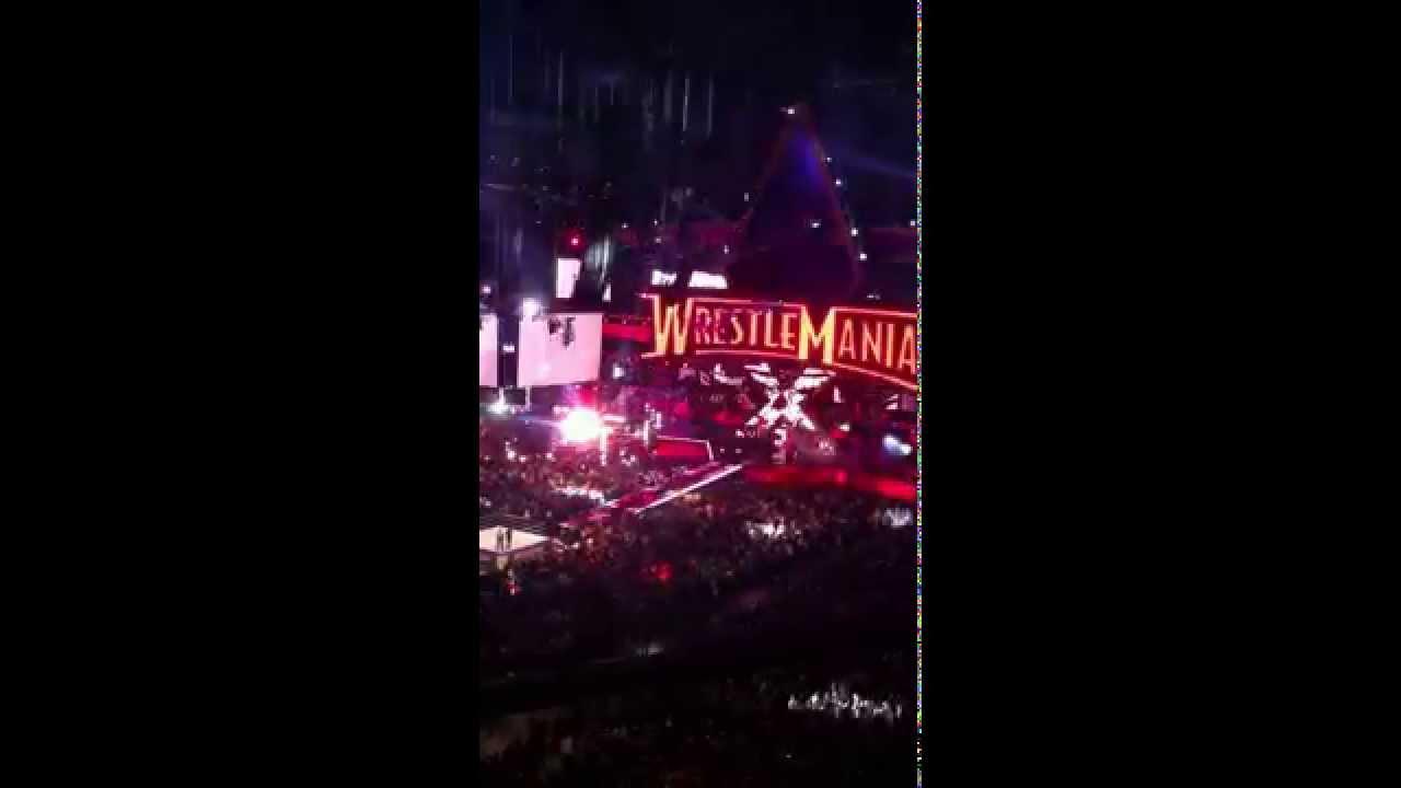 Wrestlemania 30 - Brock Lesnar Entrance - YouTube