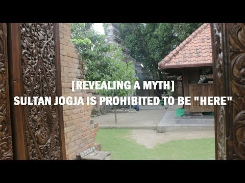 Sultan Jogja is Prohibited To Be