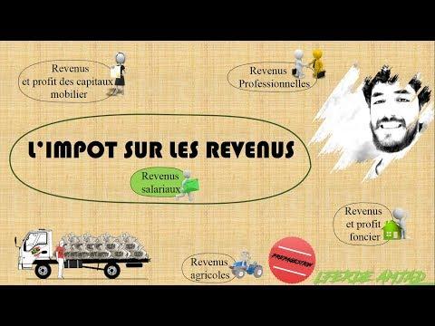 Fiscalité : Impôt sur les revenus ( IR salarial)
