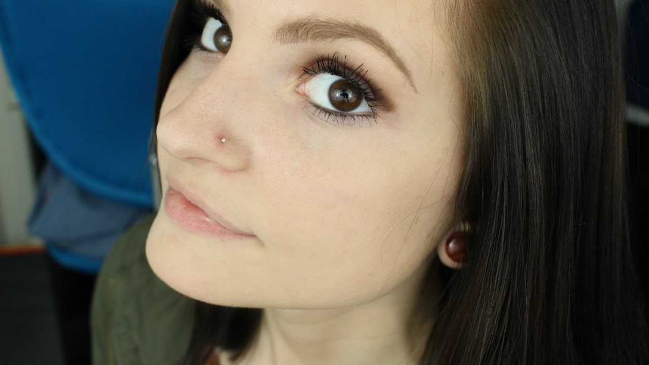 How To Put In A Nose Bone Stud Alyssa Nicole Youtube