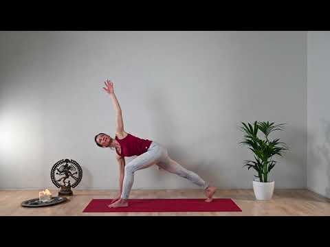 Yoga Anusara Flow I Die Kraft Der Mitte I 30 Min Im Fluss Des Atems