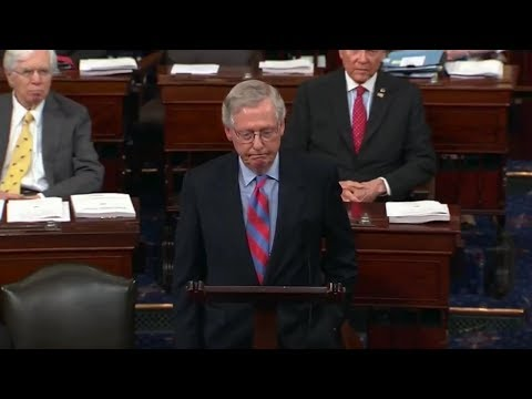 McConnell and Schumer's Remarks Following Health Care Upset