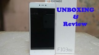 Gionee F103 Pro Unboxing amp Hands On Review