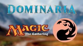 VERMELHO - Dominaria - Todos os Cards - Magic the Gathering - Spoilers - Game Over