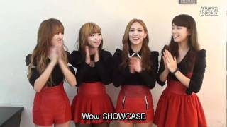111015 missA promote 1st anniversary 111105 showcase in Thailand (Eng Sub)