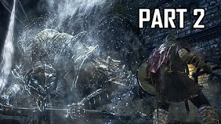 Dark Souls 3 Walkthrough Part 2 - Boss Vordt of the Boreal Valley (Full Game)