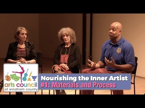 Arts Council of Windham County: The Inner Artist - Materials & Process 3/22/18