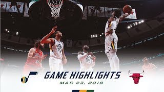 Highlights: Jazz 114 | Bulls 83