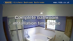 Bathroom installation timelapse
