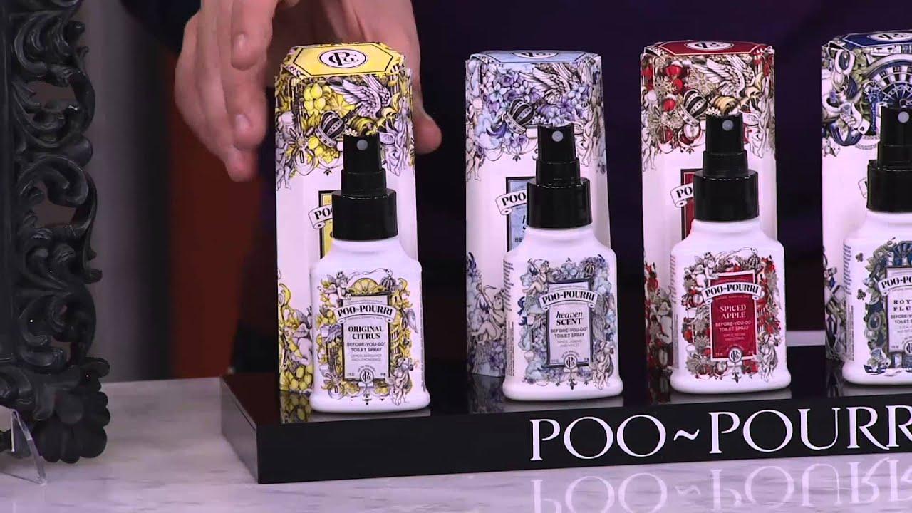 Poo-Pourri S/5 2 oz. Bathroom Deodorizers in Gift Boxes on QVC ...