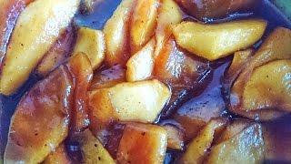 Как карамелизировать яблоки для блинчиков, пирогов, десертов
