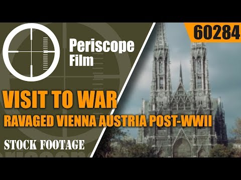 VISIT TO WAR RAVAGED VIENNA AUSTRIA   POST-WWII HOME MOVIES  Feldkirch 60284