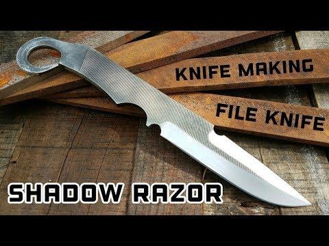 Knife Making - Shadow Razor File Knife