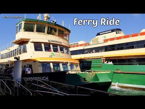 Sydney Ferry Ride - Pyrmont Bay To Circular Quay - Sydney Australia