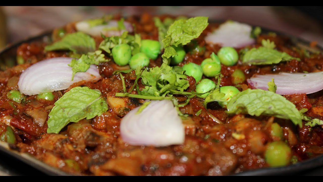 Street food india spicy mushroom masala currydhaba style street food india spicy mushroom masala currydhaba style popular indian recipes youtube forumfinder Images