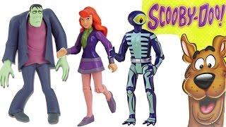 Oyuncak Figürü   Scooby-Doo - Daphne, Frankenstein ve Skeleton Man   Süper Oyuncaklar