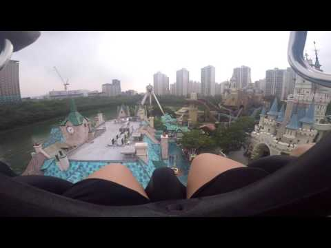 One day at Lotte World, Seoul