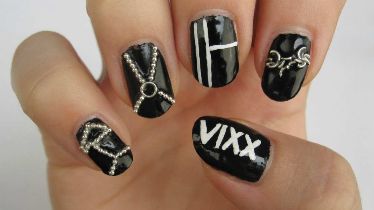 VIXX - Fantasy Nail Art - YouTube