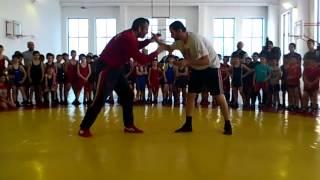 Мастер-класс Бувайсара Сайтиева в Школе борьбы братьев Сайтиевых (ч. 2)