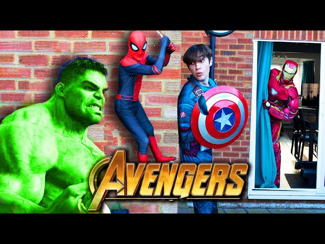 Avengers Extreme Hide and Seek! THE BEST HIDING SPOT!