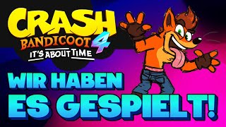 So wird Crash Bandicoot 4! Exklusives Gameplay & Eindrücke | Game Talk Spezial