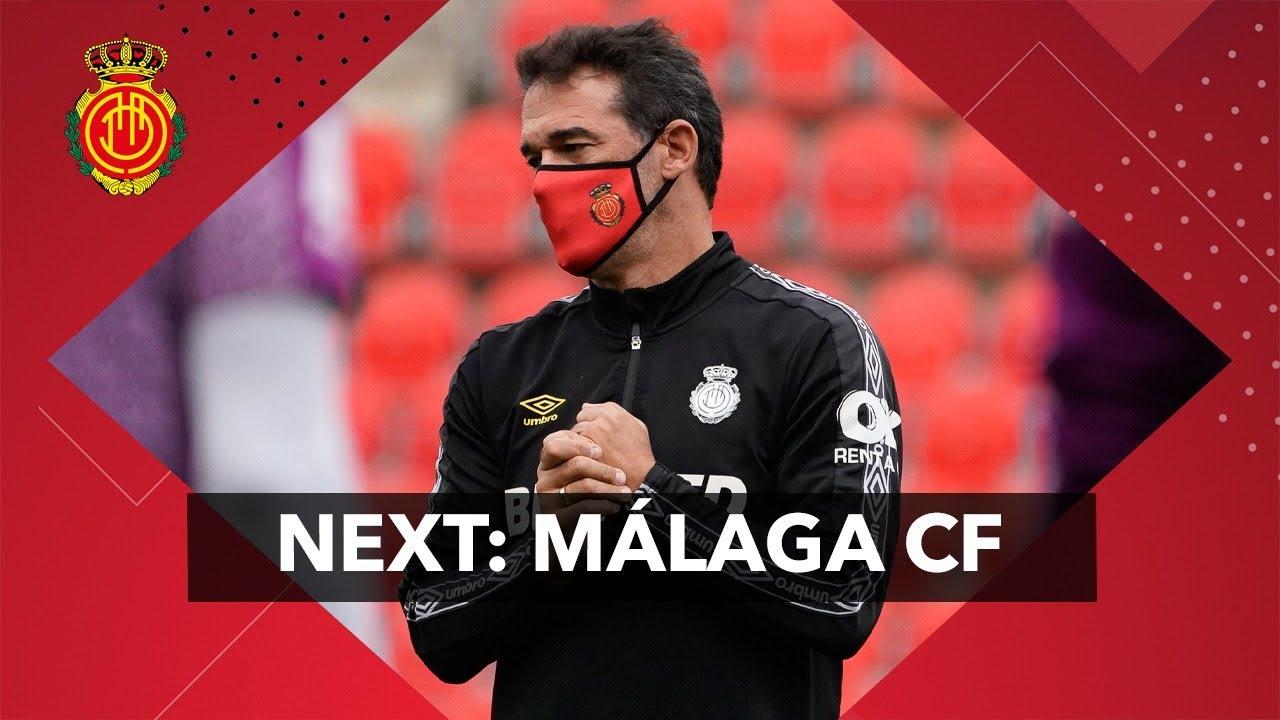 Rueda de prensa de Luis García previa al Málaga CF