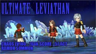 【DFFOO JP】Leviathan Ultimate CHAOS LV180 - vs Class Zero