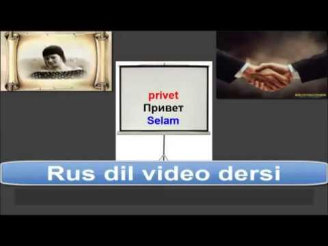 Rusça Tanışma Ve Vedalaşma