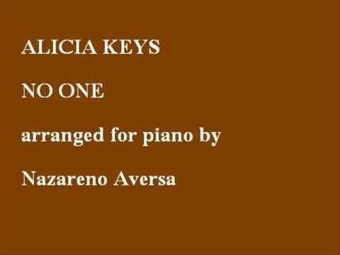 Alicia Keys No One Piano Cover