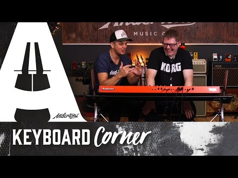 Jack and Luke try out the VOX Continental! - Keyboard Corner