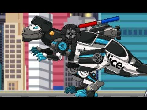 Tarbo Cops Dino Robot (Роботы динозавры: полицейский Тарбозавр)