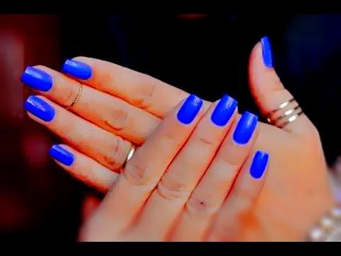 Misturinha de Esmaltes - Esmalte Azul parecido com o Frio na Barriga da Gio  Antonelli - YouTube 989a14408b