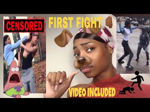 MY FIRST HIGH SCHOOL FIGHT +FOOTAGE 👊👀 Eva williams